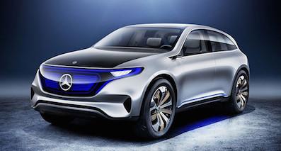 奔驰子品牌EQ首款车型或2018年上市