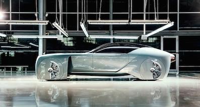 未来百年劳斯莱斯概念车103EX首次亮相北美