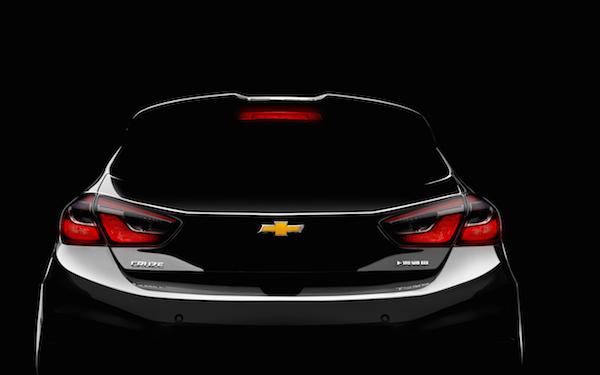 雪佛兰全新科鲁兹两厢同步引入国内 广州车展首发