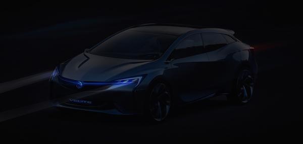 别克Velite新能源概念车定妆照首发 搭新一代动力系统