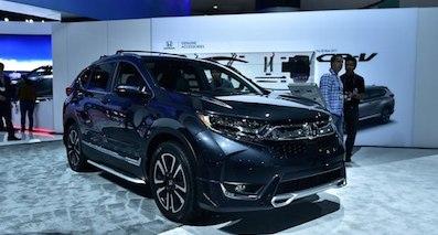 本田全新CR-V正式亮相 涡轮增压发动机引入