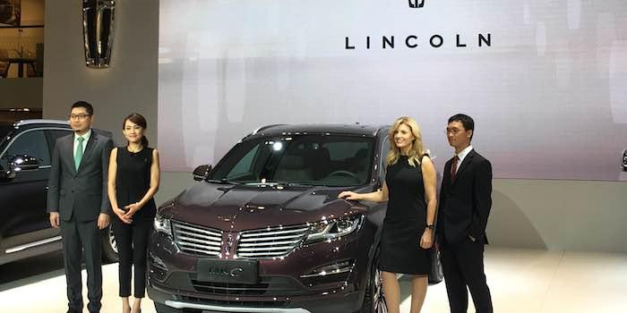 林肯新款MKC上市 售价29.88万-49.88万