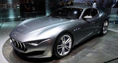 搭V6动力 玛莎拉蒂Alfieri 2019年推出