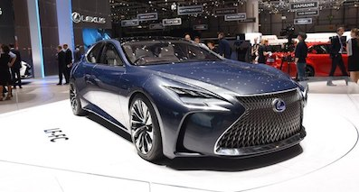 雷克萨斯新一代LS有望搭载氢燃料电池