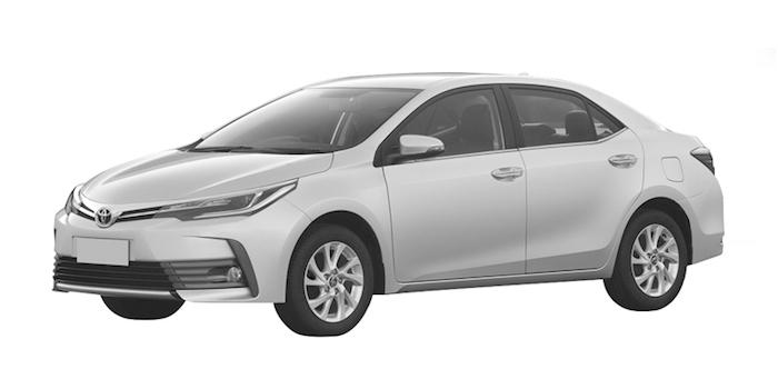 一汽丰田将推新款卡罗拉 前脸造型大变