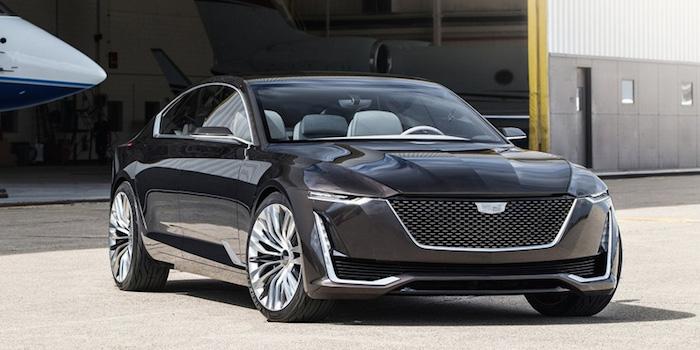 凯迪拉克将推全新旗舰轿车 竞争宝马7系