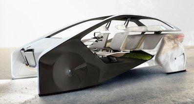 比i8敞篷还科幻 宝马i Vision概念车