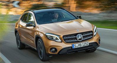 奔驰新款GLA即将国产 外观大改/尺寸升级