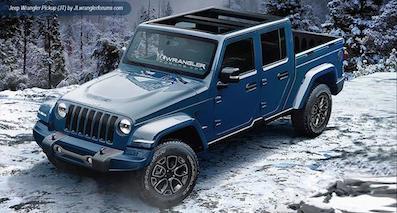 Jeep将推皮卡版牧马人 有望引入国内