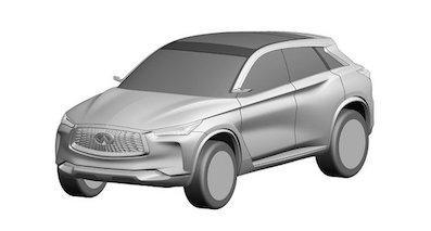 英菲尼迪将推出全新QX50 外观大幅改动