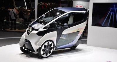 来自2030年 丰田全新概念车日内瓦发布