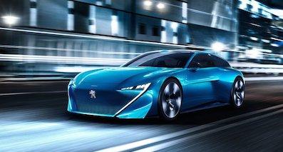标致Instinct概念车日内瓦车展将亮相