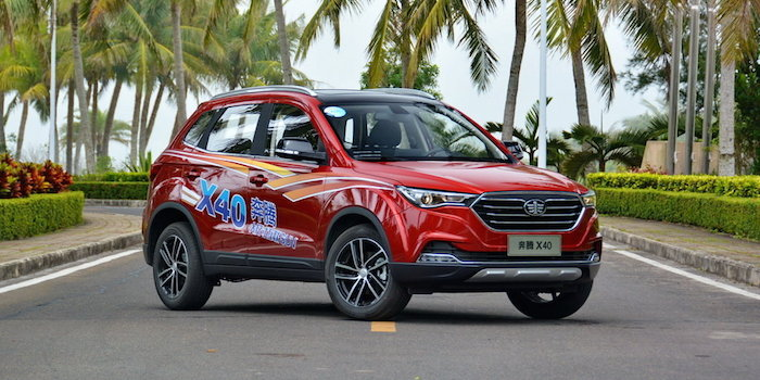 10万买自动挡SUV 奔腾X40/瑞虎3哪个好?