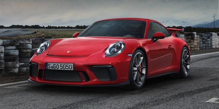 保时捷新款911 GT3发布 换搭大排量引擎