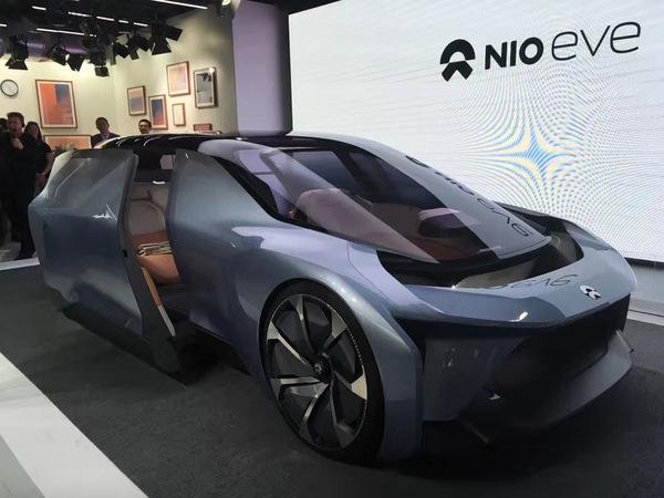 蔚来汽车概念车EVE 无人驾驶上海车展将首发