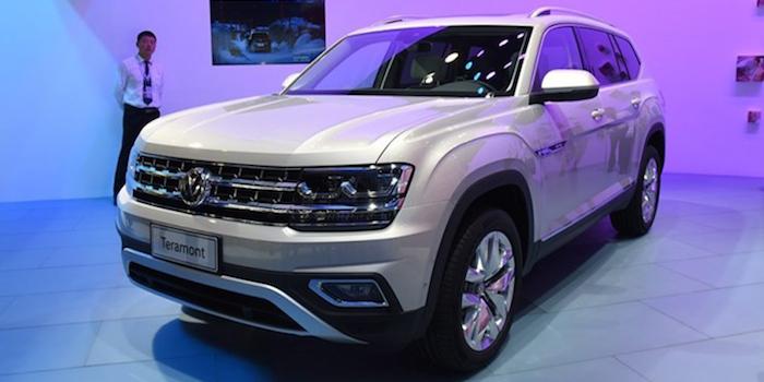 大众SUV途昂推9款车型 预计31万起售
