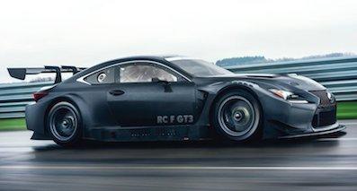 全新雷克萨斯RC F GT3将亮相 为赛事而生