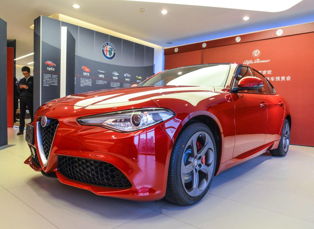 阿尔法·罗密欧Giulia价格发布 售33.08万元起