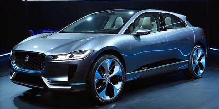 捷豹全新纯电动SUV年底量产 4秒内破百