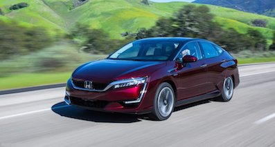 Honda新款燃料电池车 CLARITY FUEL CELL首发