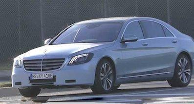 奔驰S级改款4月将发布 搭直列六缸引擎
