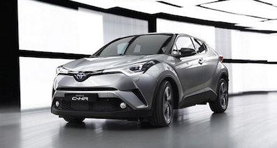 丰田新小型SUV路试谍照 与凯美瑞同平台