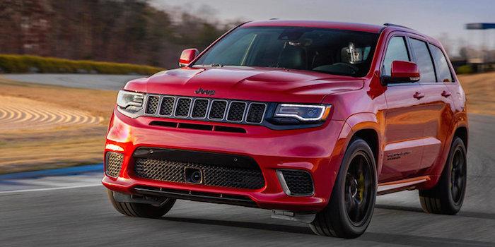 Jeep高性能SUV实车曝光 百公里加速3.5秒
