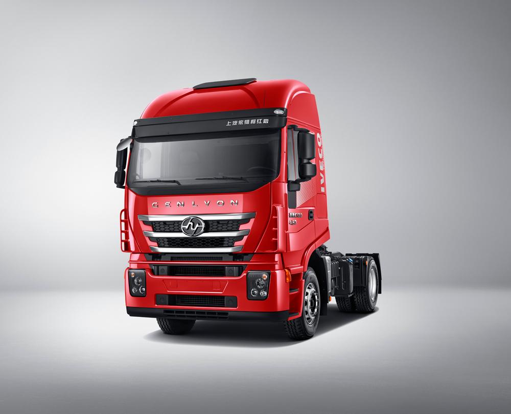 红岩杰狮C500高效物流运输车型将亮相上海车展