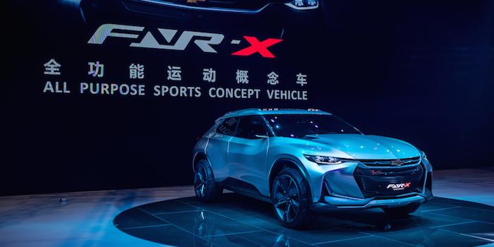 雪佛兰概念车CHEVROLET FNR-X全球首发