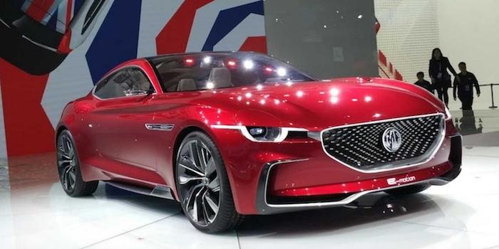 2+2式的布局 MG E-motion概念车亮相