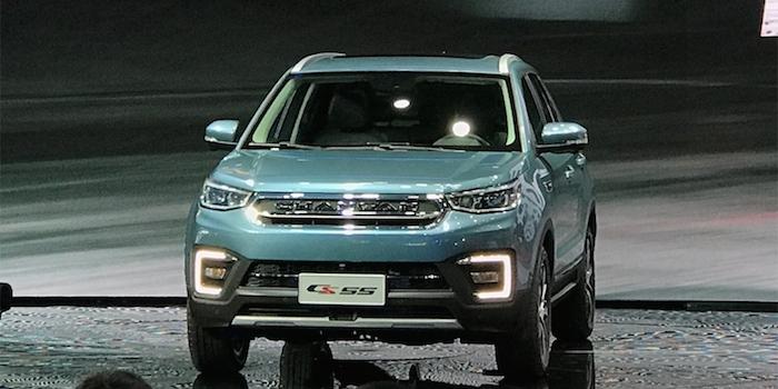 定位紧凑型SUV 长安CS55车型正式发布