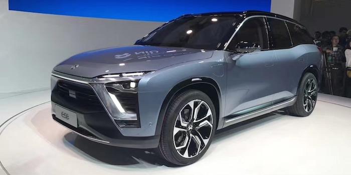 蔚来携11辆车首秀中国 最新量产车ES8亮相
