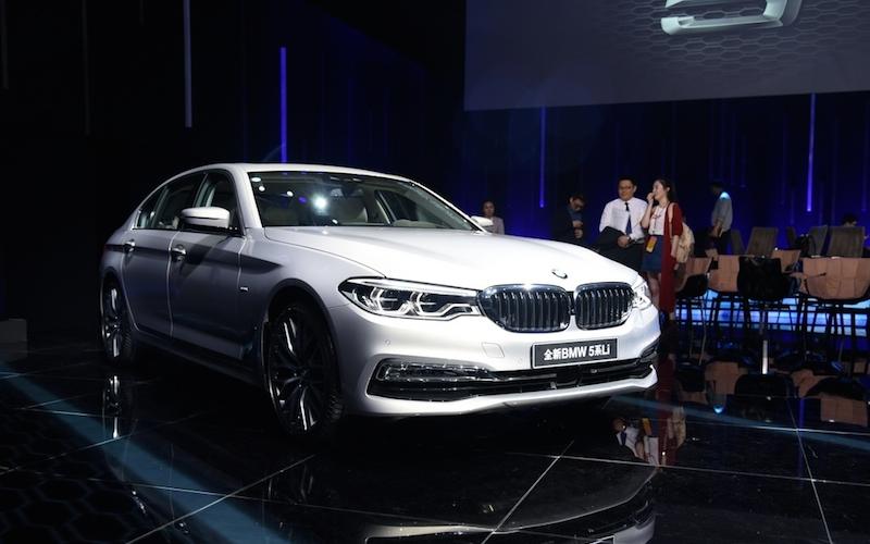 宝马全新一代5系Li全球首发 将于6月上市