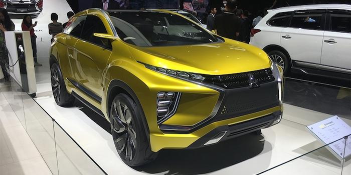 三菱eX Concept国内首发 采用纯电驱动方式