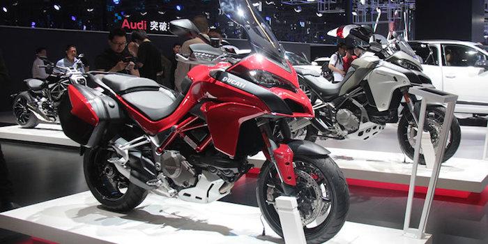 2017上海车展那些骚过超级跑车的摩托车