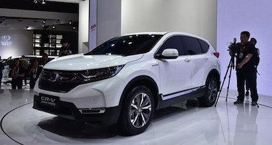 尺寸增大 东风本田CR-V混动车型7月上市