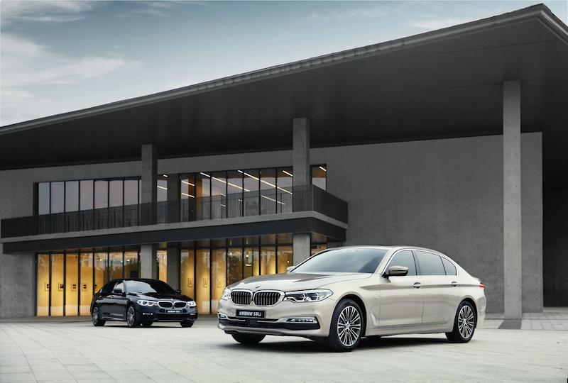 全新BMW 5系Li开启预售 528Li 预售价45万起