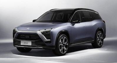 蔚来汽车第二款SUV定名ES6 与宝马X3同级