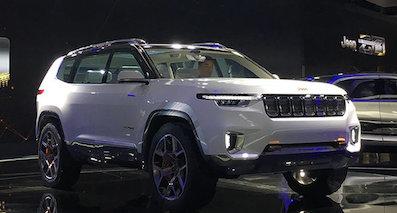 Jeep将国产新大7座SUV 竞争大众途昂