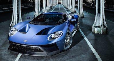 代表福特前沿技术 2017款福特GT