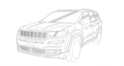 曝Jeep新7座SUV专利图 预计美国售89万起