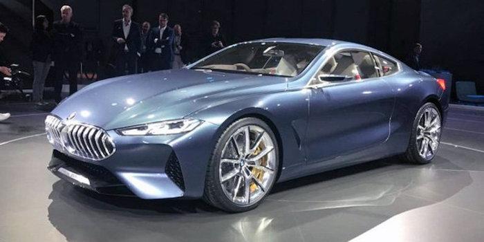 宝马8系概念轿跑车首发 4座设计/配水晶挡杆