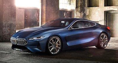 BMW 8-Series Concept概念车 有望明年量产