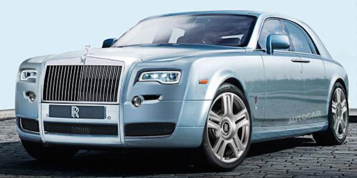 劳斯莱斯新一代幻影预告图曝光 全铝车身打造