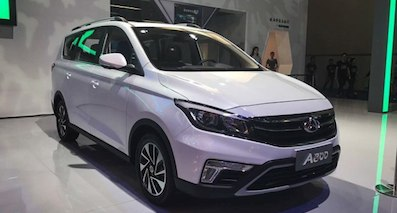 2017重庆车展:欧尚A800预售6.99万起