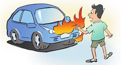 夏季汽车自燃原因有哪些?该怎么防患于未然?