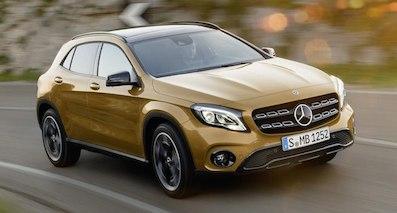 前脸靓的没话说,新款奔驰GLA上市售27.18万起