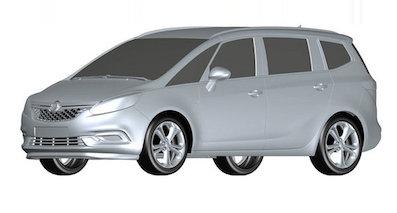 别克将推全新MPV-GL6 竞争大众途安
