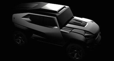 防弹+越野 Rezvani将推出首款SUV车型