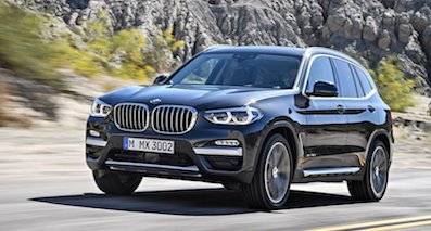 宝马新一代X3德国售价36.3万起 将于沈阳投产